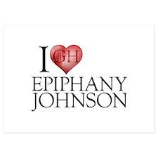 I Heart Epiphany Johnson Invitations
