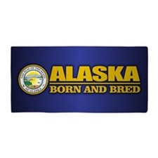 Alaska Born and Bred Beach Towel