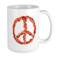 Peace of Bacon Mugs