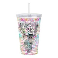 Cute Elephant Acrylic Double-wall Tumbler