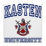 KASTEN University Tile Coaster