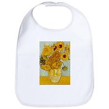 Vincent Van Gogh Sunflower Painting Bib