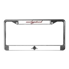 HoGG::Radio License Plate Frame