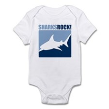 Sharks Rock! Infant Bodysuit