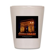 The Beauty of France:Arch de Triomphe Shot Glass