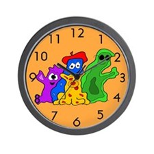 Germy Bacteria Wall Clock