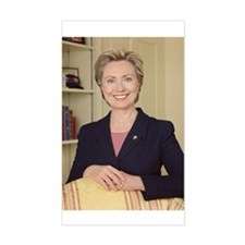 Sen. Hillary Rodham Clinton Rectangle Decal