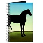 Grassy Field Horse Journal