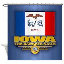 Iowa (v15) Shower Curtain