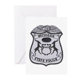 Michigan State Police Greeting Cards (Pk of 10