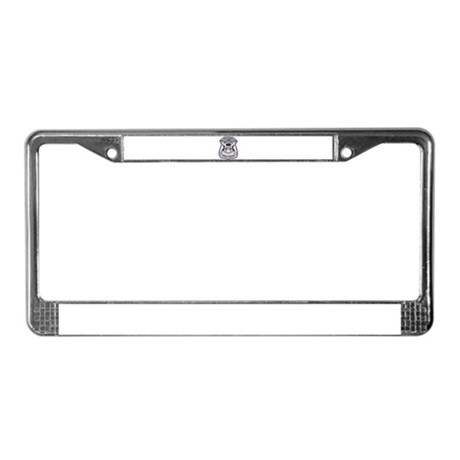 Michigan State Police License Plate Frame