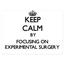 Keep Calm by focusing on EXPERIMENTAL Invitations