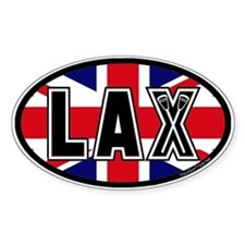 Lacrosse UK Oval Decal