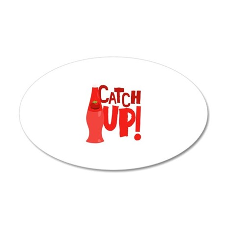 Catch Up Wall Decal