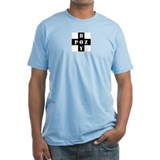 POZ BOY 100% cotton fitted T-shirt