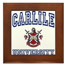CARLILE University Framed Tile