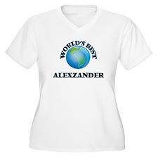 World's Best Alexzander Plus Size T-Shirt