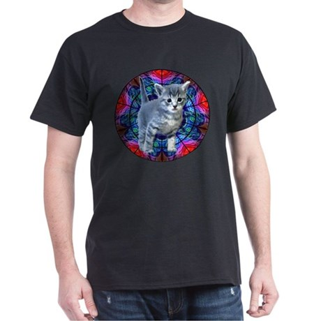 Kaleidoscope Kitty Dark T-Shirt