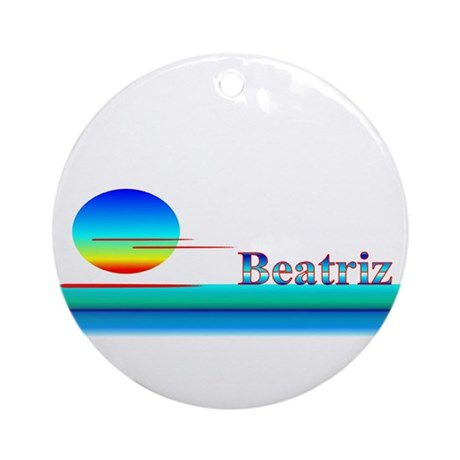 Beatriz Ornament (Round)