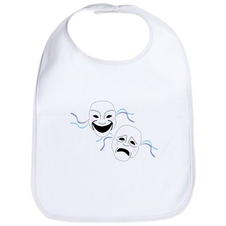 Theater Masks Bib