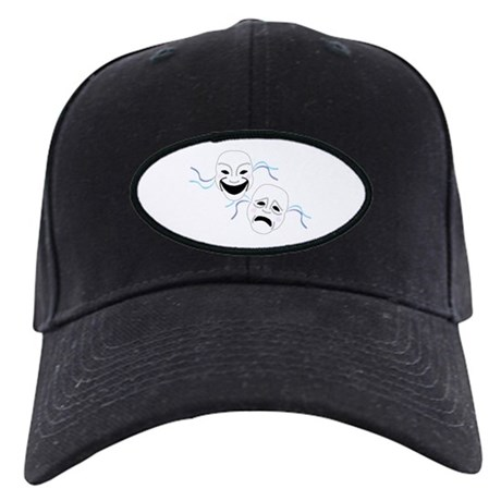 Theater Masks Black Cap
