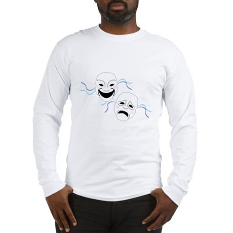 Theater Masks Long Sleeve T-Shirt
