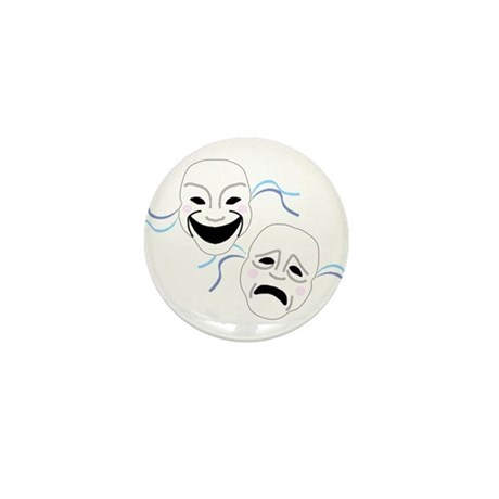 Theater Masks Mini Button (100 pack)