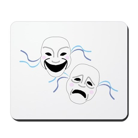 Theater Masks Mousepad