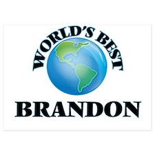 World's Best Brandon Invitations