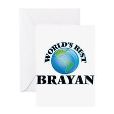 World's Best Brayan Greeting Cards