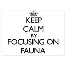 Keep Calm by focusing on Fauna Invitations