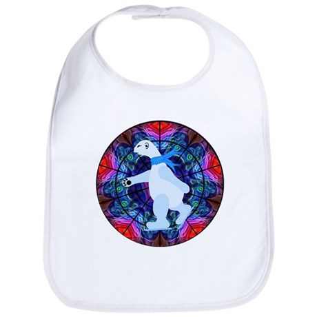 Skating Polar Bear Bib