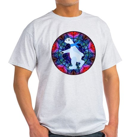 Skating Polar Bear Light T-Shirt