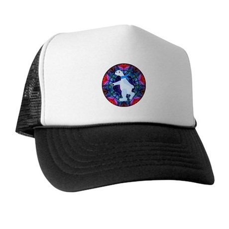 Skating Polar Bear Trucker Hat