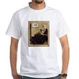 Whistler's Mother & Golden Retriever Shirt