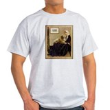 Whistler's Mother & Golden Ash Grey T-Shirt