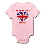 Bard, Valentine's Day Infant Bodysuit