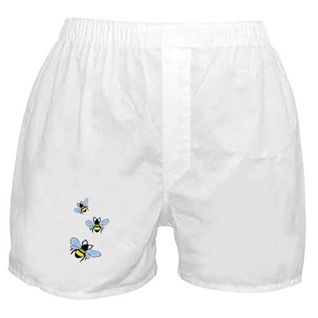 Bumble Bees Boxer Shorts