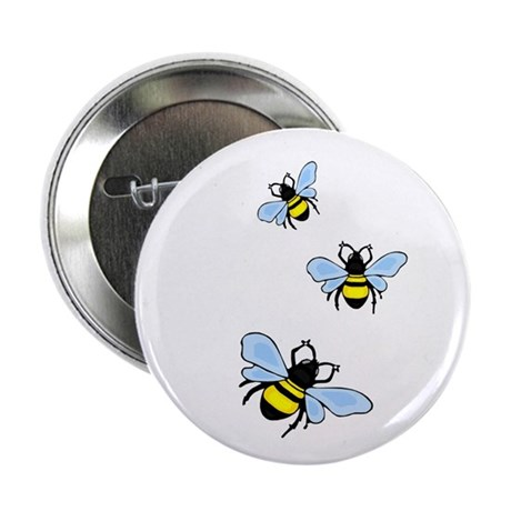 "Bumble Bees 2.25"" Button (10 pack)"