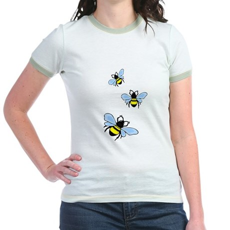 Bumble Bees Jr. Ringer T-Shirt
