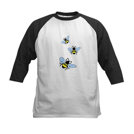 Bumble Bees Kids Baseball Jersey
