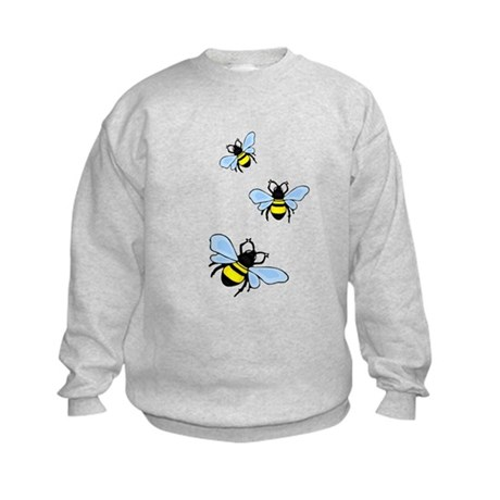 Bumble Bees Kids Sweatshirt