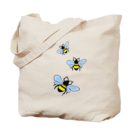Bumble Bees Tote Bag
