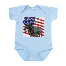Pit Bull Pride Infant Creeper