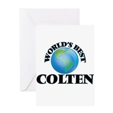 World's Best Colten Greeting Cards