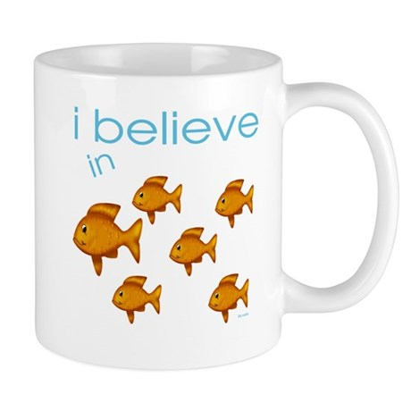I believe in fish Mug