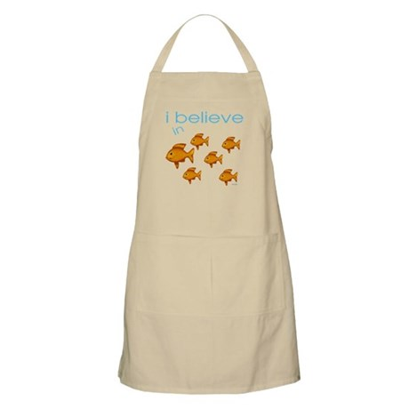 I believe in fish BBQ Apron
