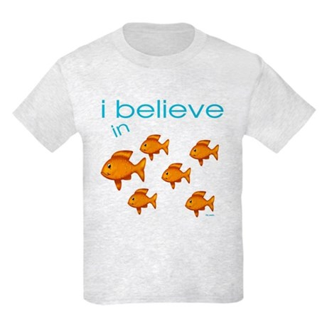 I believe in fish Kids Light T-Shirt