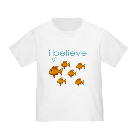 I believe in fish Toddler T-Shirt