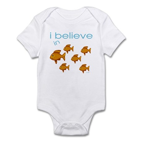 I believe in fish Infant Bodysuit